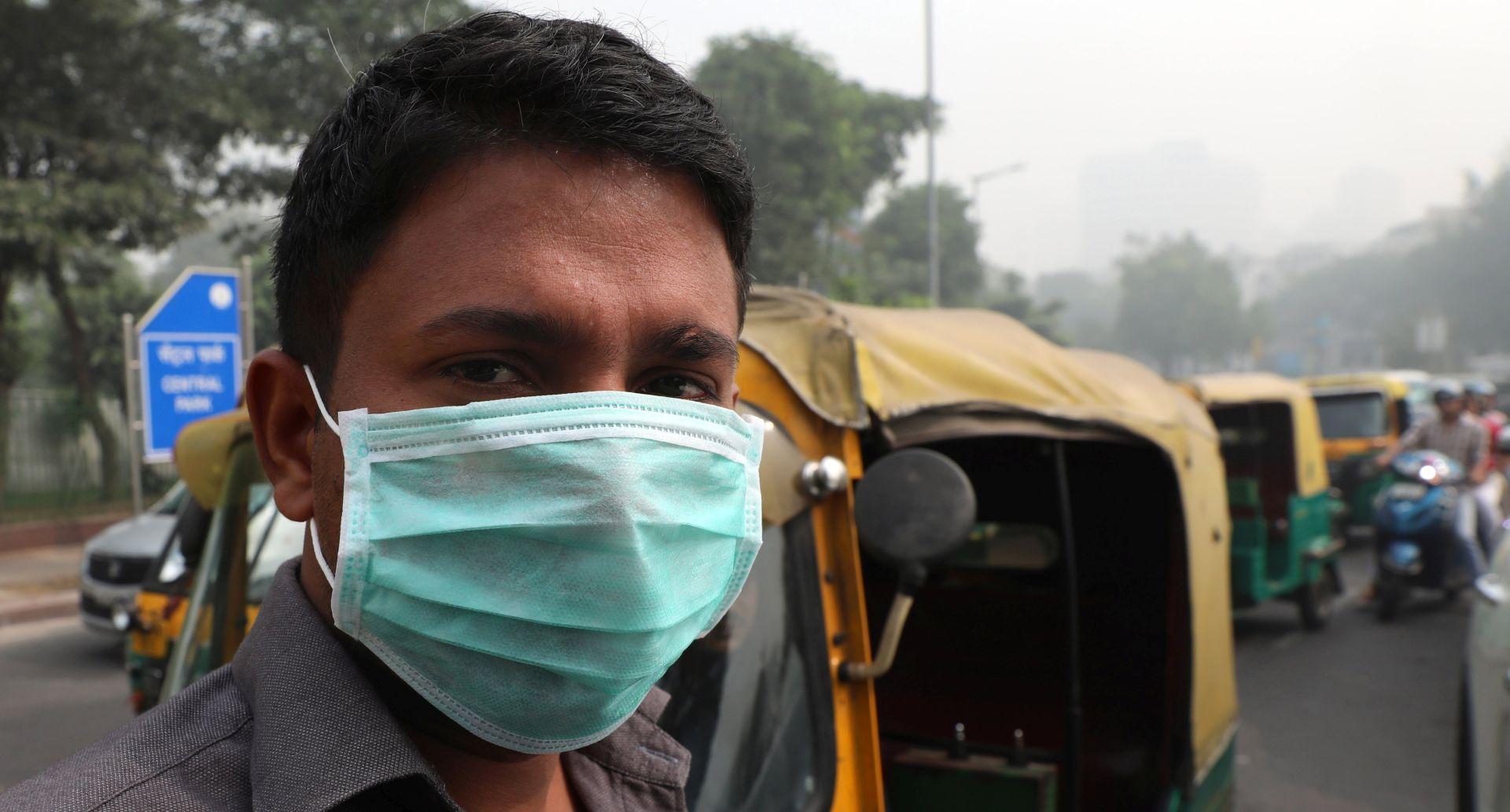 New Delhi proglasio izvanredno stanje zbog opasnog zagađenja zraka