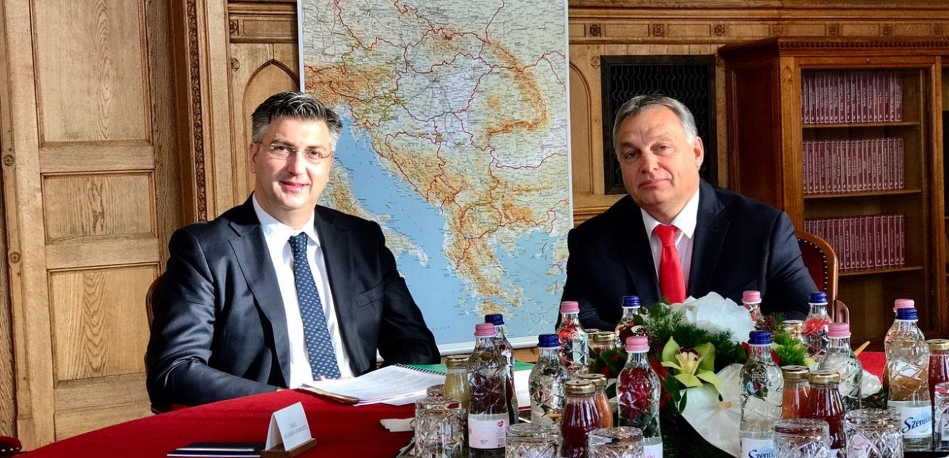 Plenković i Orban održali neformalni sastanak u Opatiji