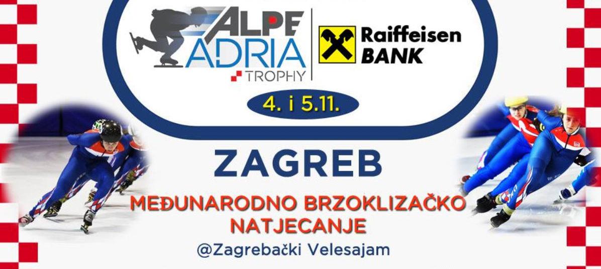 ALPE ADRIA TROPHY Podržite hrvatske brzoklizače u jakoj konkurenciji