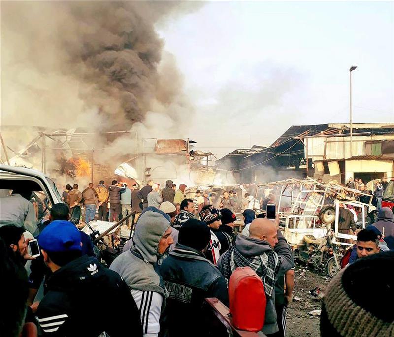 U Iraku 21 osoba ubijena u atentatu u multietničkom gradu