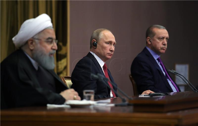 Putin, Erdogan i Rouhani predložili da Soči ugosti kongres sirijskog režima i oporbe