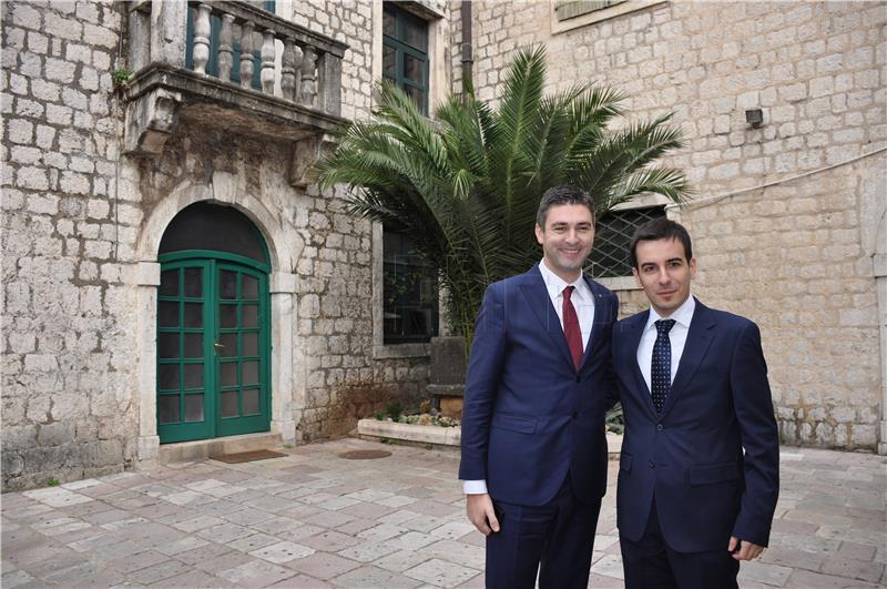 Franković izrazio zadovoljstvo kvalitetnijom suradnjom Dubrovnika i Kotora