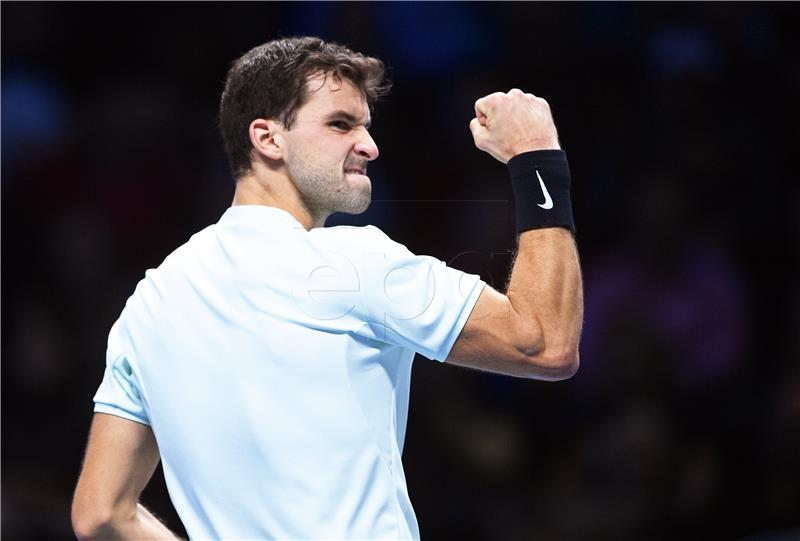 ATP FINALE Trijumf Dimitrova