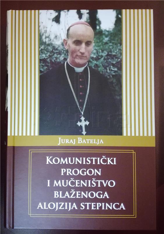 Predstavljena knjiga Juraja Batelje 'Komunistički progon i mučeništvo blaženoga Alojzija Stepinca'