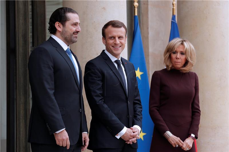 Macron toplo dočekao Haririja u Parizu