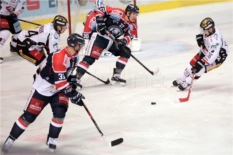 Hokejaši Medveščaka na svom ledu pobijedili RS Salzburg