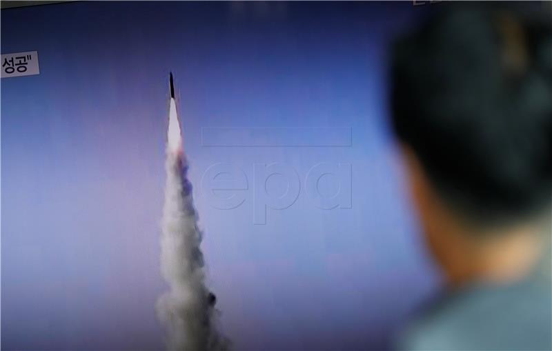 Interkontinentalni balistički projektil Sjeverne Koreje pao u Japansko more