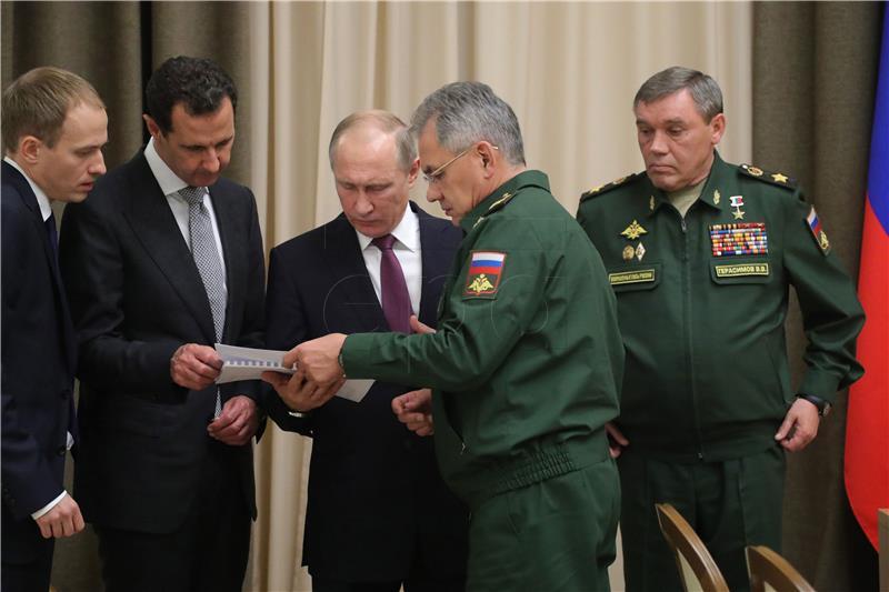 Rusija će vjerojatno do kraja godine smanjiti broj vojnika u Siriji