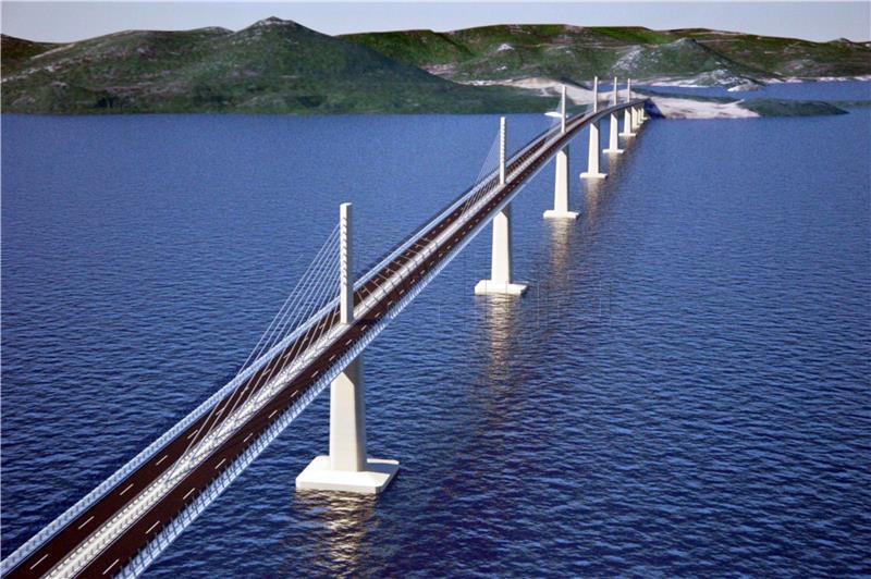 Vladajuća bošnjačka stranka zahtijeva prekid gradnje Pelješkog mosta