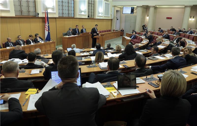IZGLASANO POVJERENJE VLADI Opoziv odbačen s 59 glasova za, 78 protiv