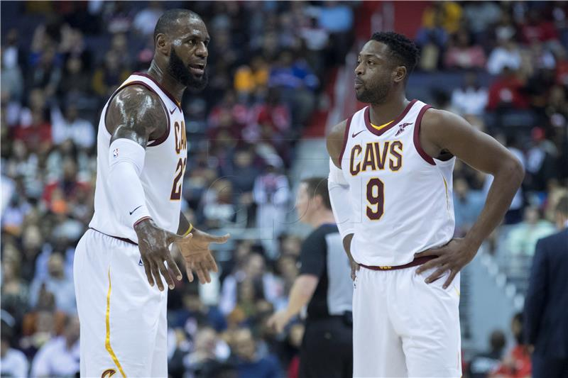 NBA Novi poraz Clevelanda, skromni učinci Hrvata