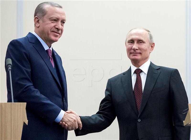 Putin, Erdogan i Rohani u Sočiju o političkom rješenju za Siriju