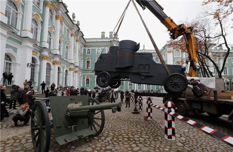 Rusija tiho obilježava stogodišnjicu Oktobarske revolucije