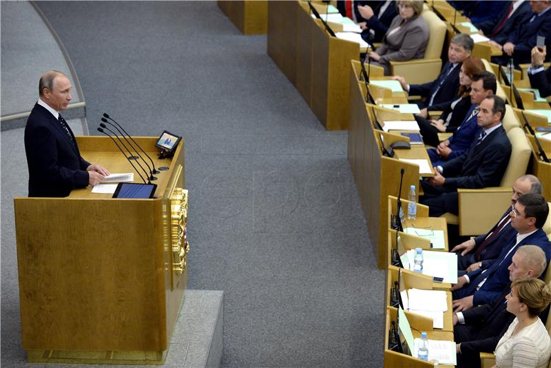 Ruski zastupnici usvojili zakon o medijima