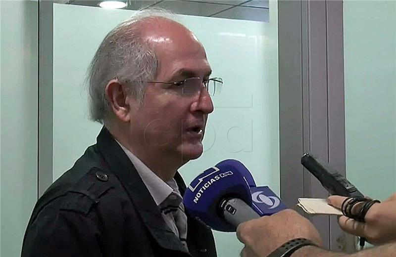 Antonio Ledezma doputovao u Madrid nakon bijega iz Venezuele