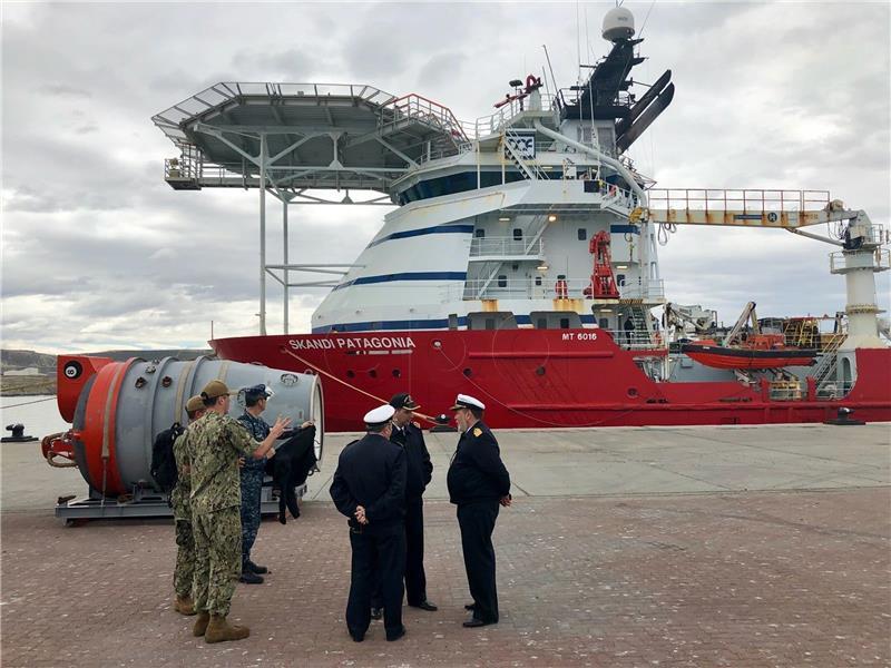 Argentinska mornarica bilježila eksploziju na dan nestanka podmornice