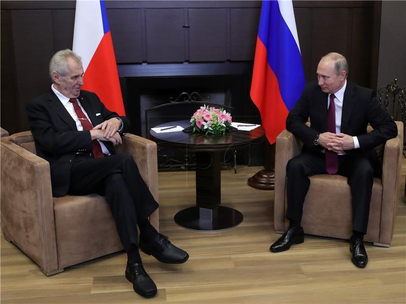 Češki predsjednik pozvao na okončanje EU-ovih sankcija Rusiji