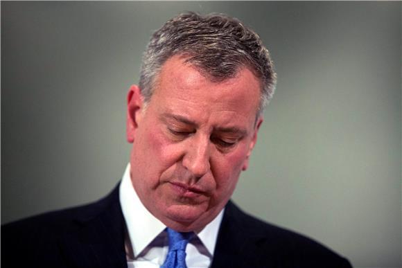 Ostaje li de Blasio gradonačelnik New Yorka?