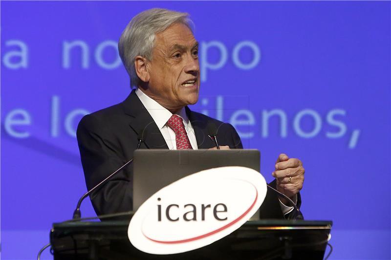 Konzervativac Pinera očekuje pobjedu na izborima u Čileu
