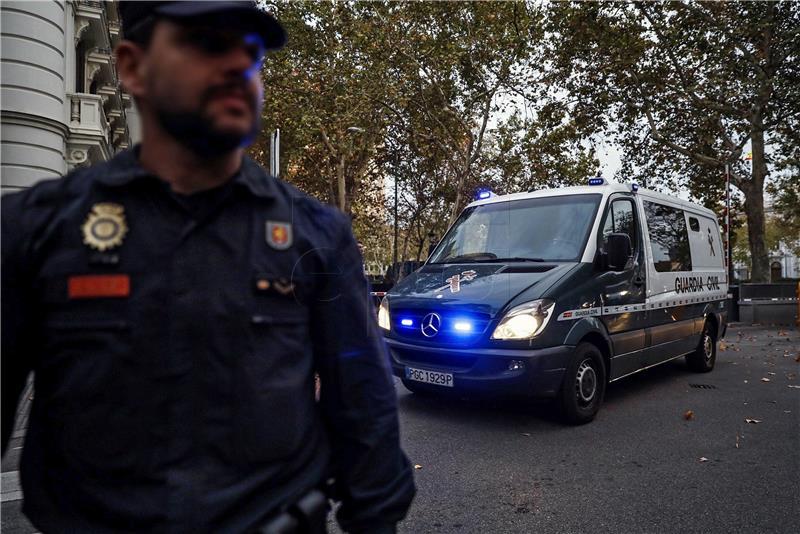 POČELI PROSVJEDI U KATALONIJI Pritvoreno osam katalonskih dužnosnika