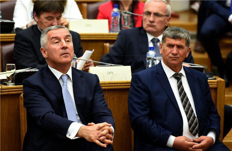 Crnogorski parlament usvojio sporazume o suradnji s NATO-om