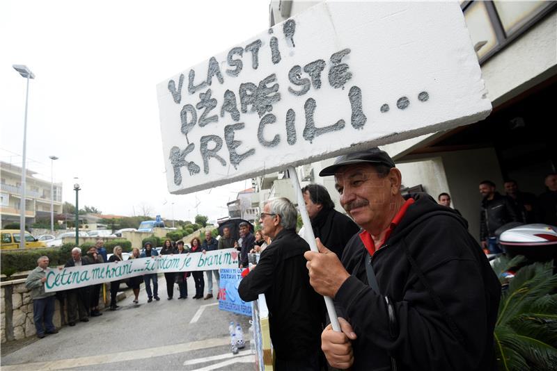 PROSVJEDNICI TRAŽE Zaustavite projekt termoelektrane Peruća