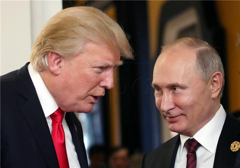 Putin izvijestio Trumpa o svom susretu s Asadom