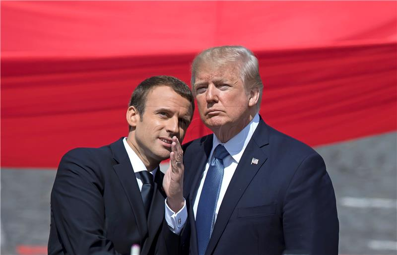 Trump još uvijek nije na popisu pozvanih na Macronov summit o klimi