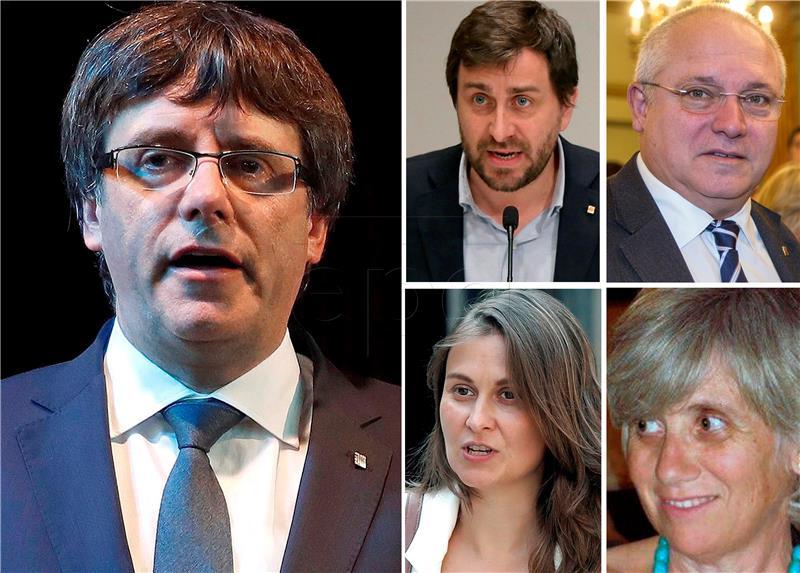 Belgija potvrdila primitak uhidbenog naloga za Puigdemontom