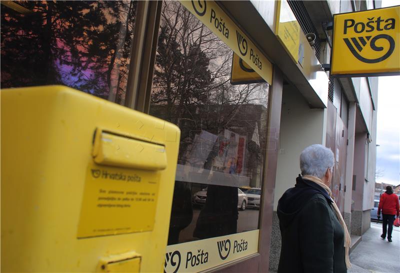 Maskirani razbojnik uz prijetnju vatrenim oružjem opljačkao Hrvatsku poštu