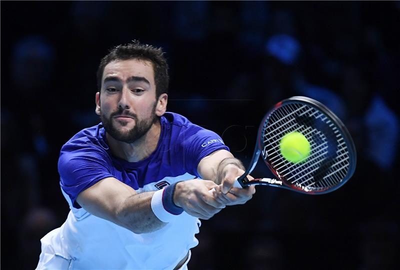 ATP MASTERS Čilić se oprostio porazom od Federera