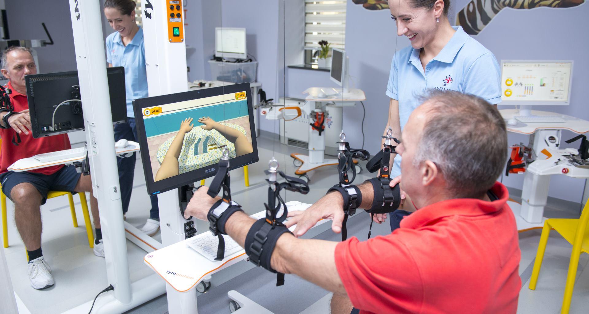 SPECIJALNA BOLNICA ARITHERA Predstavljena robotska neurorehabilitacija koja vraća izgubljeni pokret
