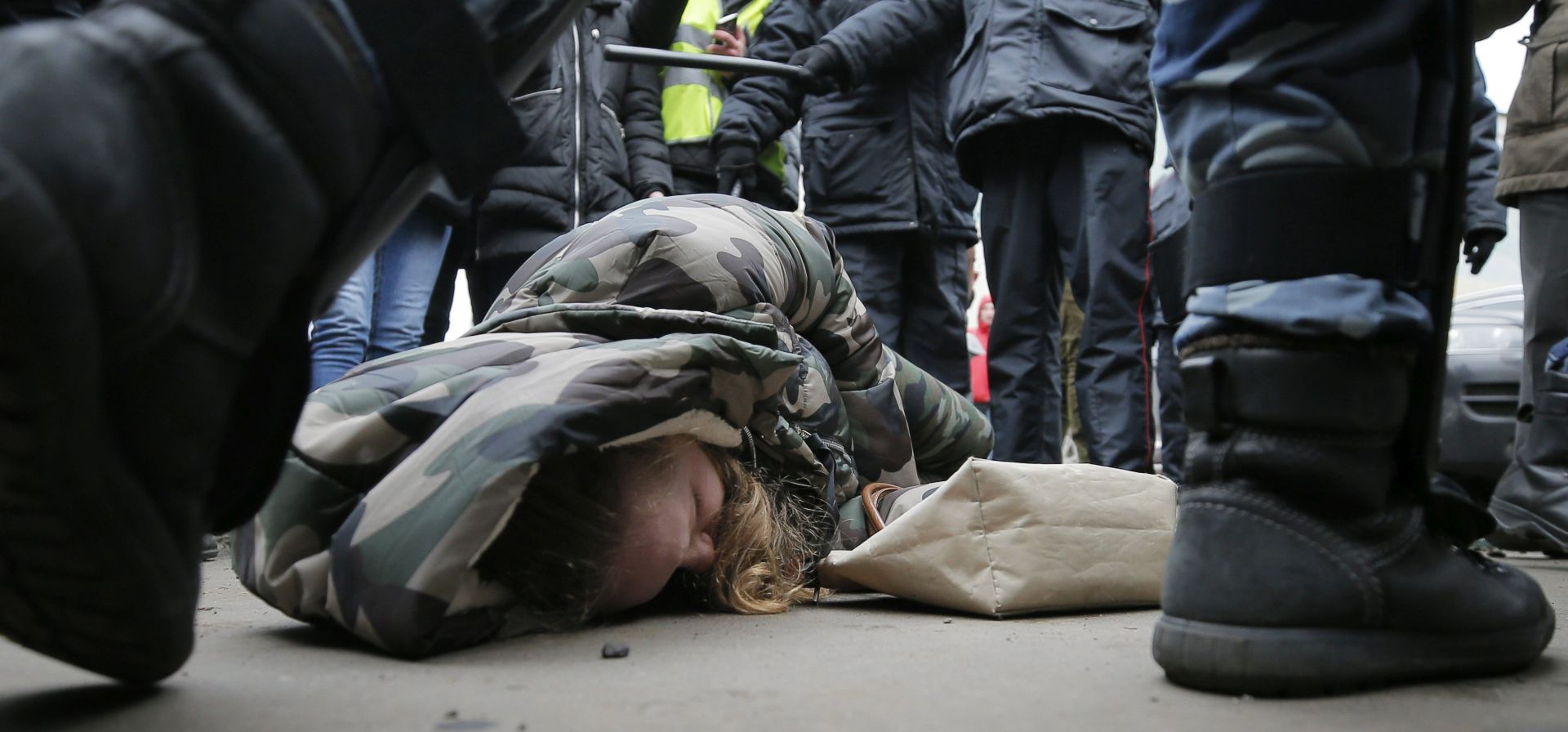 RUSKI MARŠ Deseci uhićenih na nacionalističkom skupu u Moskvi
