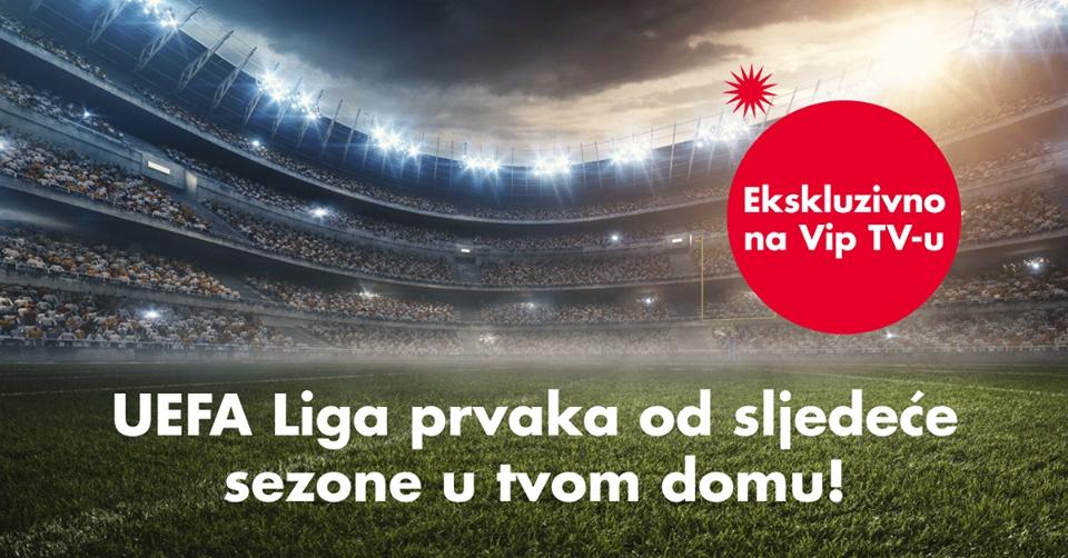 Vipnet otkupio ekskluzivna prava za UEFA Ligu prvaka