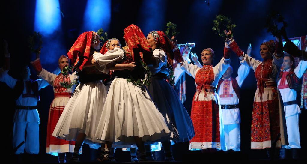 FOTO: Koncert Ansambla Lado 'Čuvajmo naše blago' u splitskoj Spaladium Areni