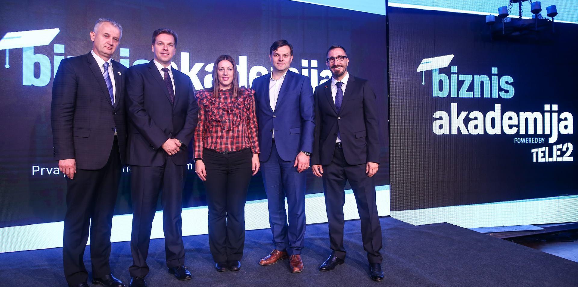 Tele2 predstavio edukacijsku platformu Biznis akademija