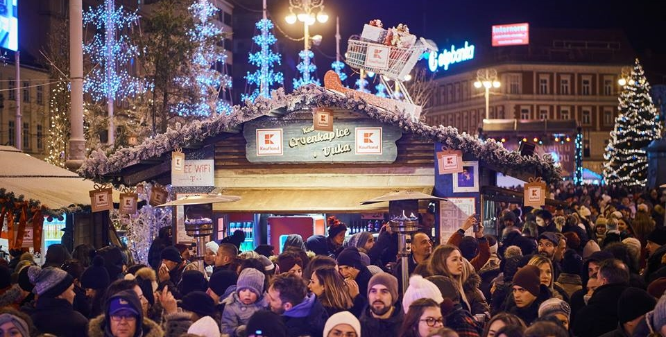 FOTO: Počeo adventski program 'Božićna bajka by Kaufland'