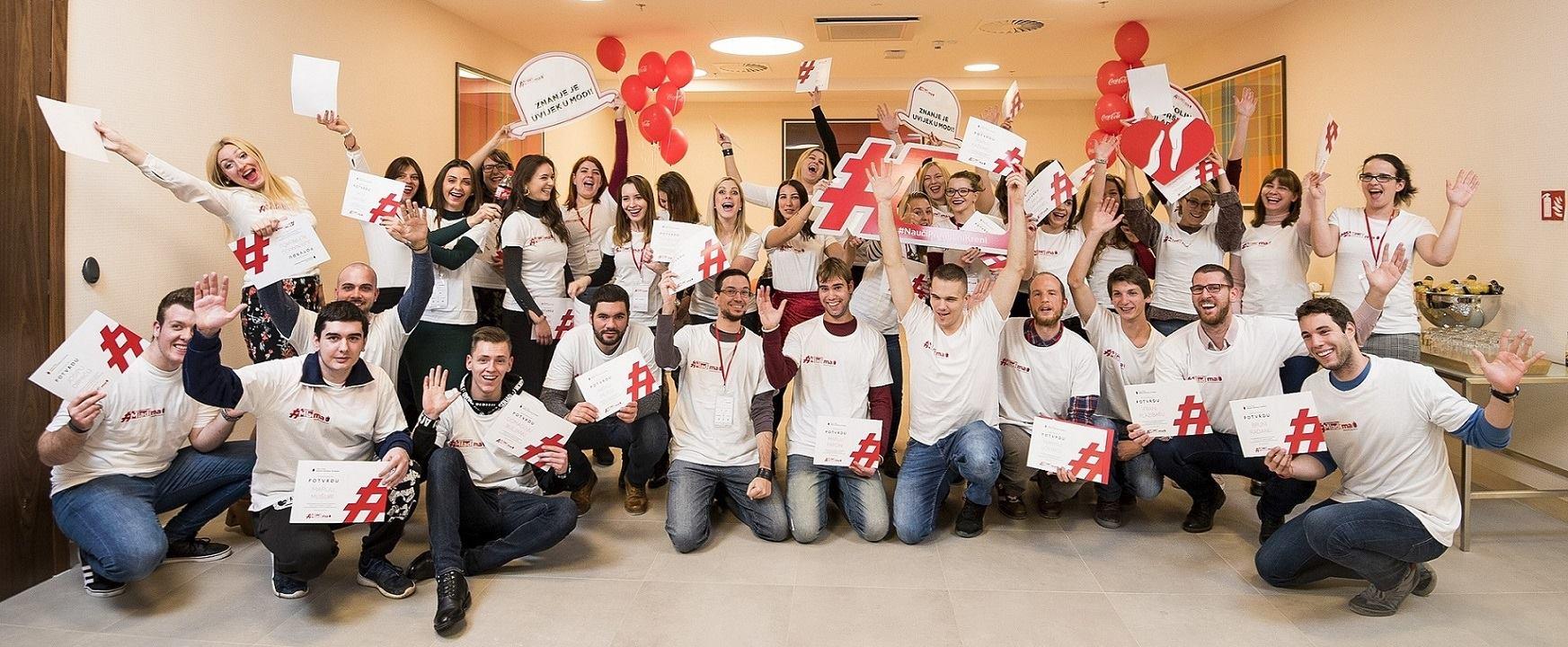 Coca-Colina podrška mladima u sljedeće će dvije godine obuhvatiti tisuću polaznika širom RH