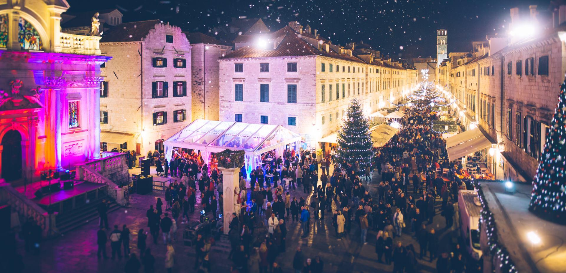 FOTO: Počinje četvrti Dubrovački zimski festival