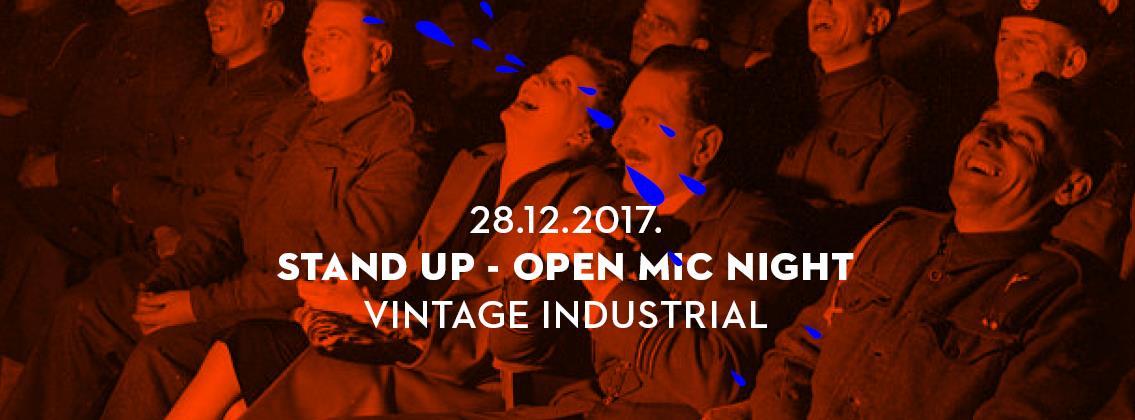 VIDEO: Stand Up Open Mic večer u Savskoj 160