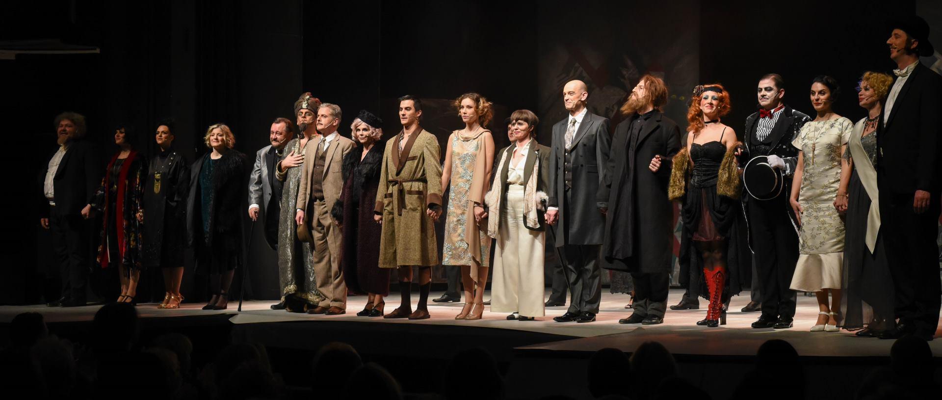 FOTO: Predstva 'Faraon iz Ilice je mrtav' oduševila prepuno Kazalište Komedija