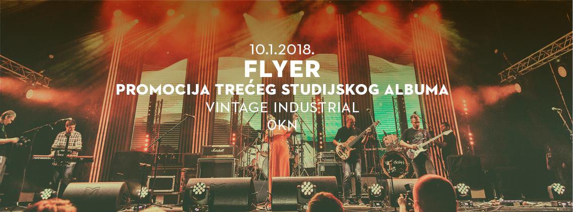 FLYER 3 Poznati hrvatski band promovira treći studijski album