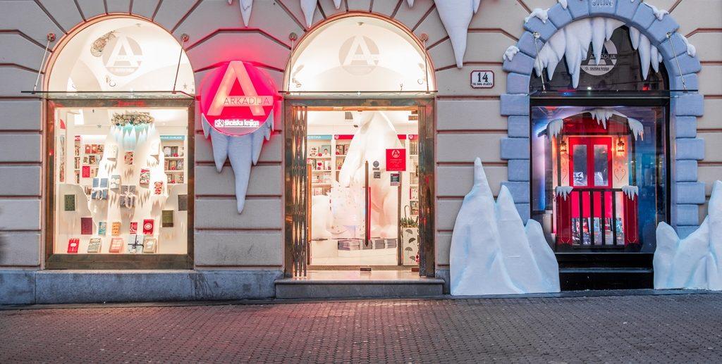 FOTO: Nova atrakcija zagrebačkog Adventa je knjižara Arkadija