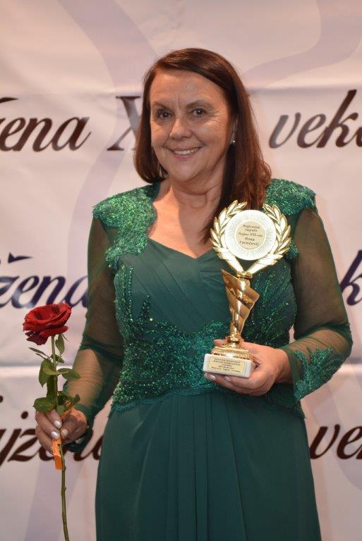 Poduzetnica i inovatorica Rosa Ferinčevič dobila priznanje 'Naj žena XXI veka Jugoistočne Europe'