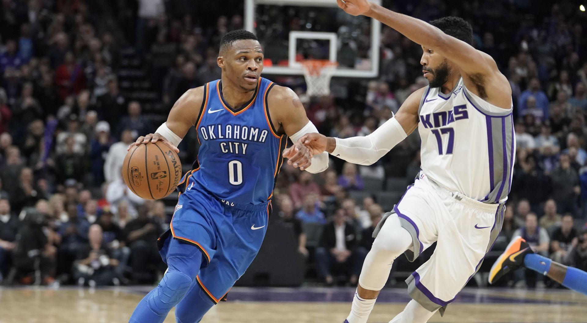 NBA Westbrookeov triple-double za pobjedu Thundera