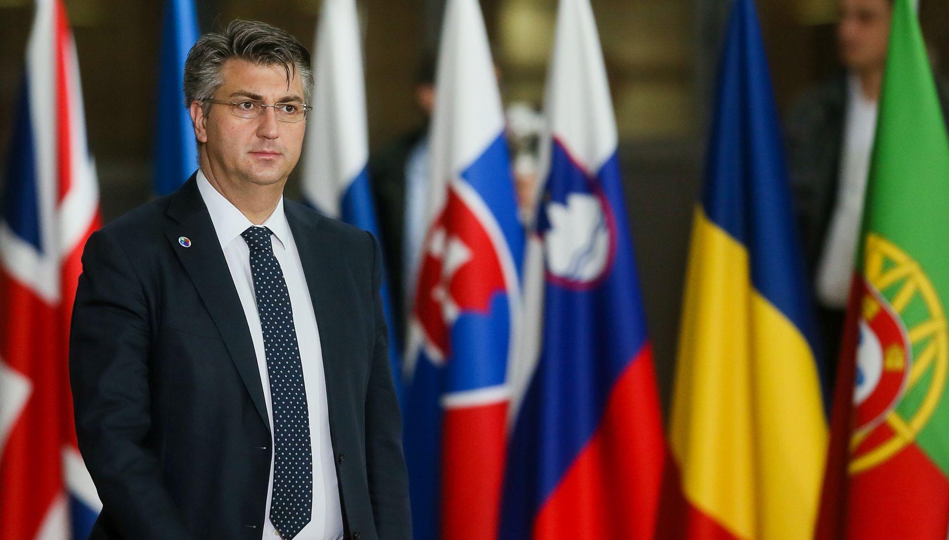 Plenković u Bruxellesu na sastanku Europskog vijeća