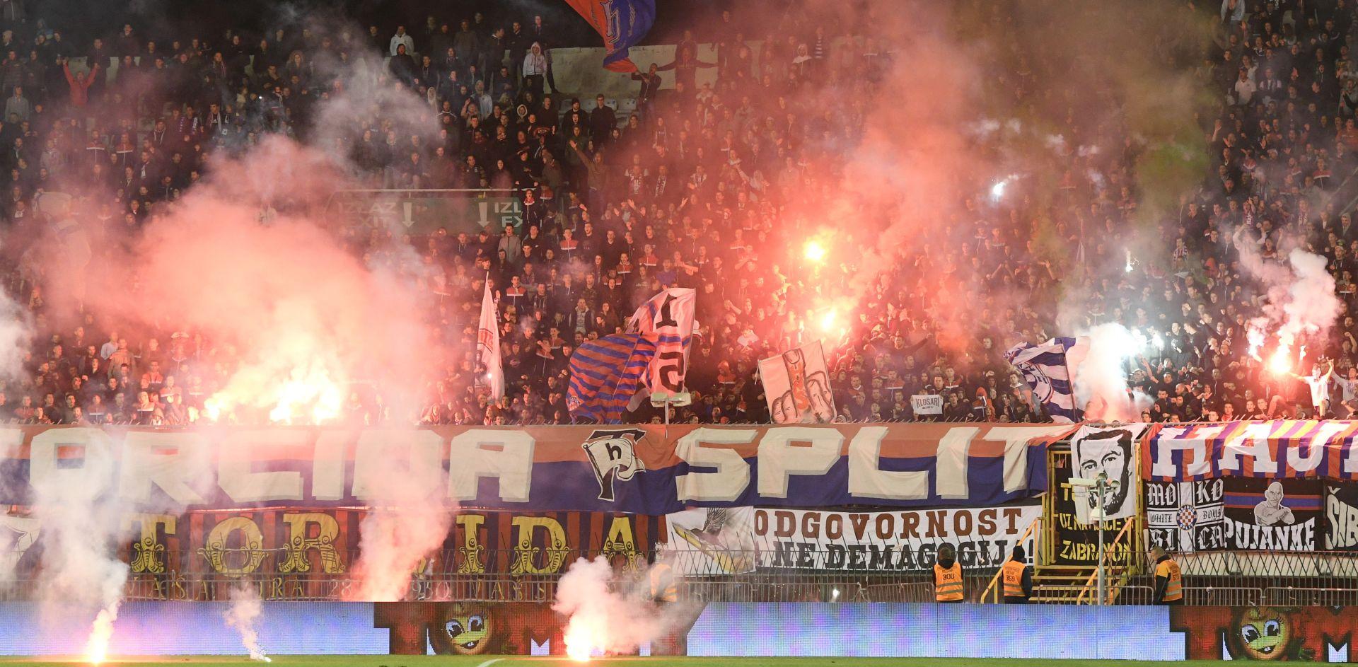 Hajduku 40 tisuća kuna kazne zbog bakljade protiv Osijeka