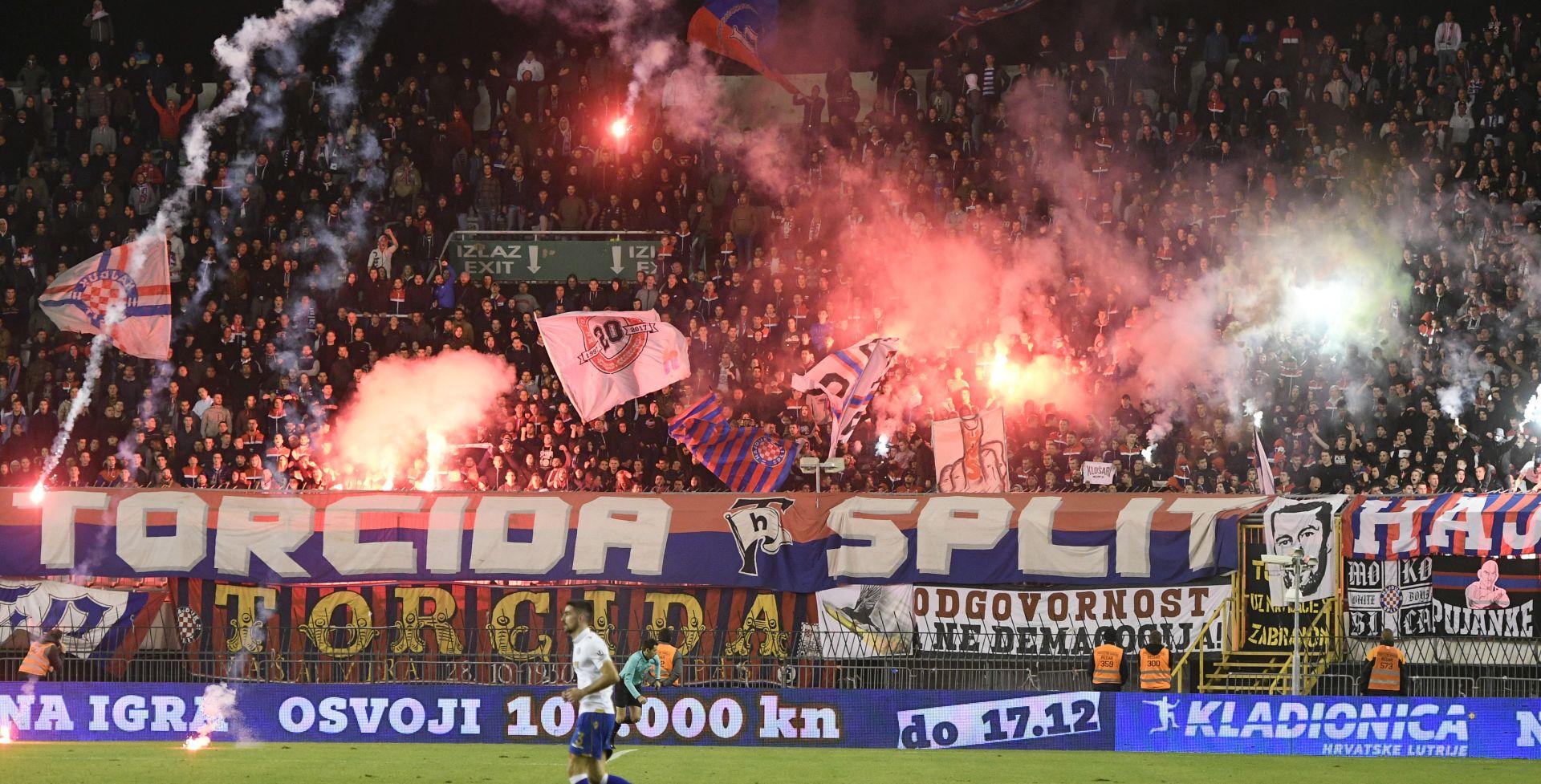 Hajduku 'čestitka' od 55 tisuća kuna, kažnjeni i Rijeka i Dinamo