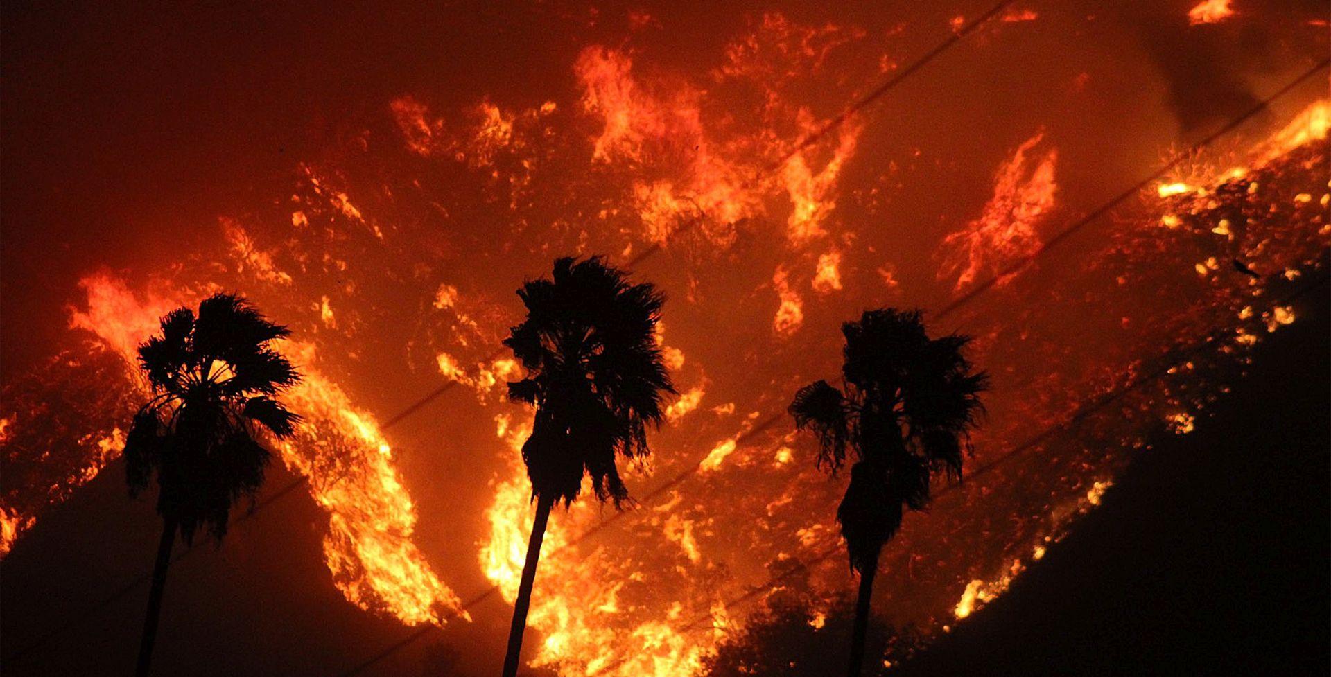 Požari se šire Kalifornijom