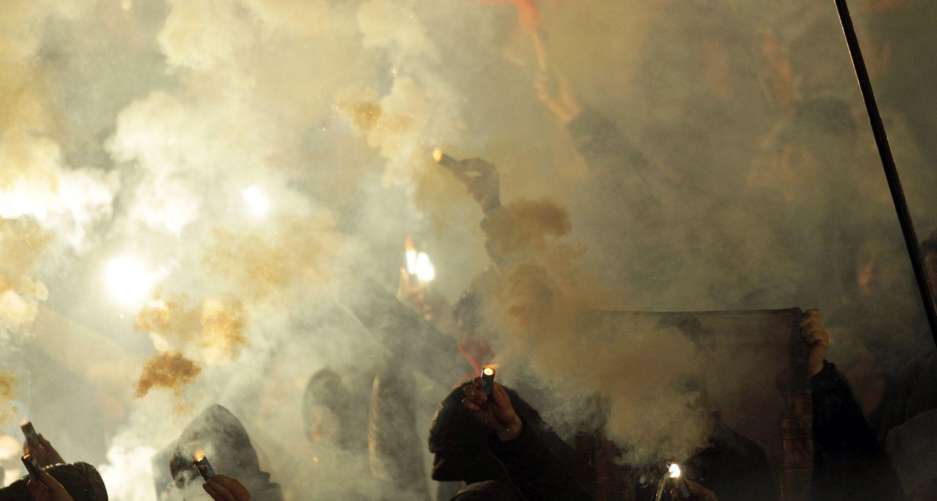 Najmlađi huligan uhićen u Beogradu vratio se kući
